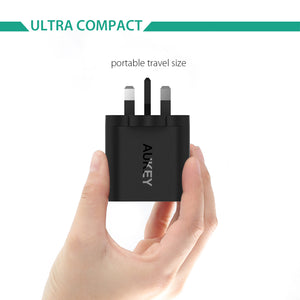 Aukey PA-T9 1 Port Quick Charge 3.0 Wall Charger