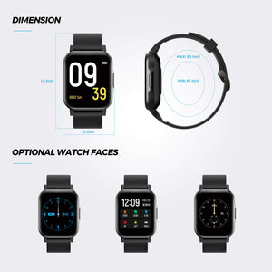 SoundPEATS Watch1 Smart Fitness Watch
