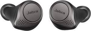 Jabra Elite 75t Earbuds – True Wireless Earbuds with Charging Case, Titanium Black – Bluetooth