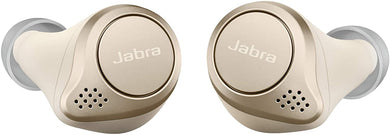 Jabra Elite 75t Earbuds – True Wireless Earbuds with Charging Case, Gold Beige – Bluetooth