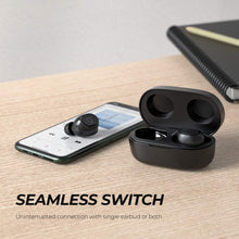 SoundPEATS TrueFree 2 True Wireless Earbuds - Black