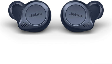 Jabra Elite 75t Earbuds – True Wireless Earbuds with Charging Case, Navy Blue – Bluetooth