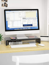 MONO Dsign Desktop Monitor Stand with Built in Storage and Phone Stand