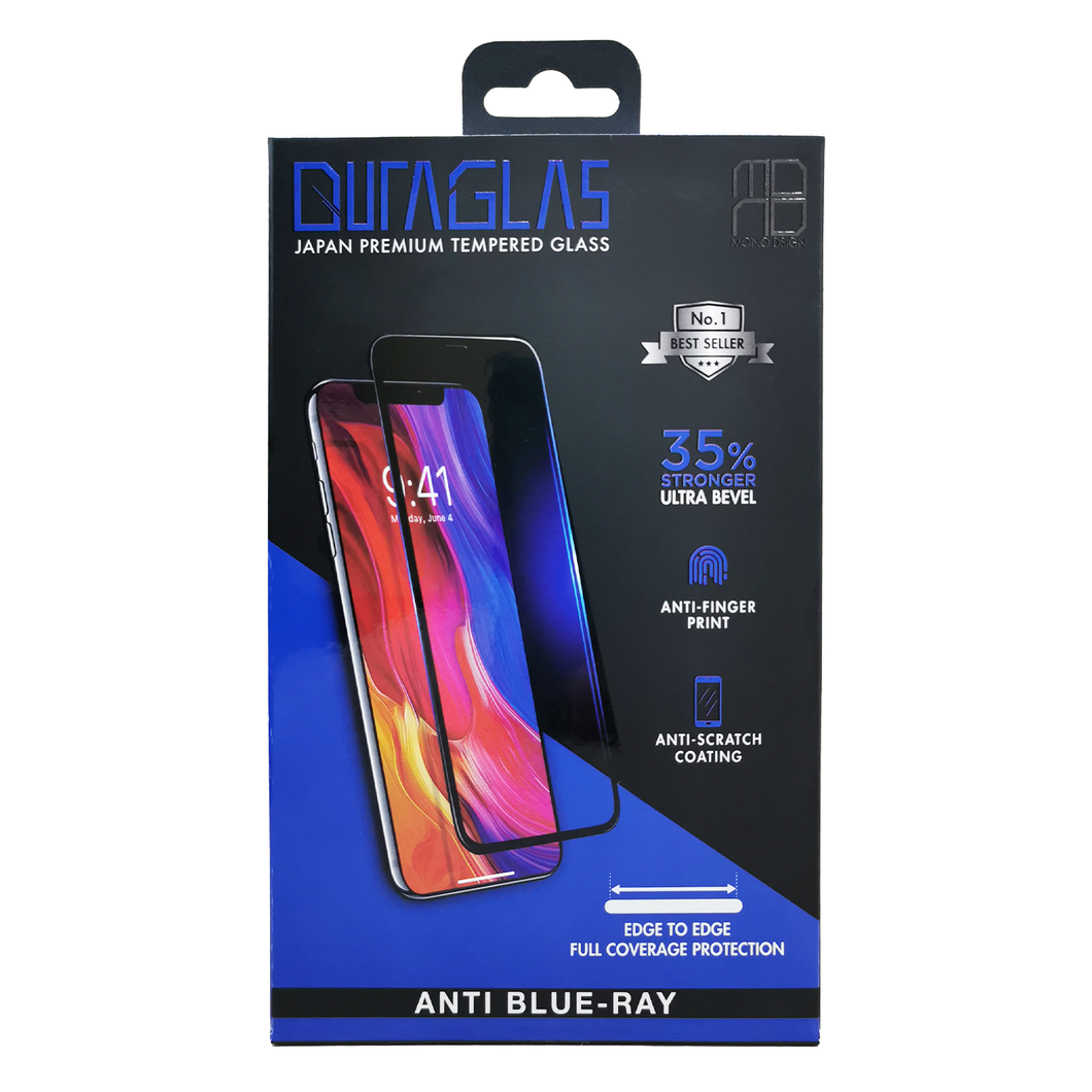 MONO Duraglas Anti Blue-Ray Full Coverage iPhone Xs Max | 11 Pro Max
