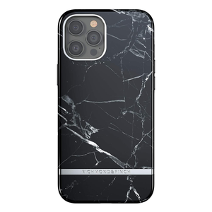 Richmond & Finch for iPhone 12 Pro Max Black Marble