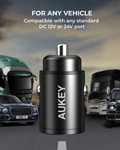 Aukey CC-A3 30W PD Dual Port Fast Car Charger