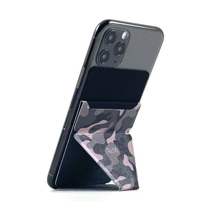 MOFT X Phone Stand with Cardholder - Camo Black