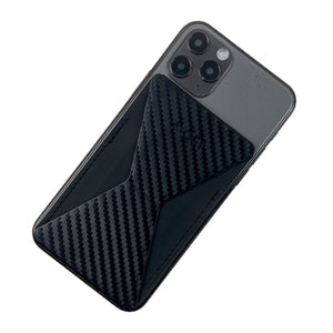 MOFT X Phone Stand with Cardholder - Carbon Fibre