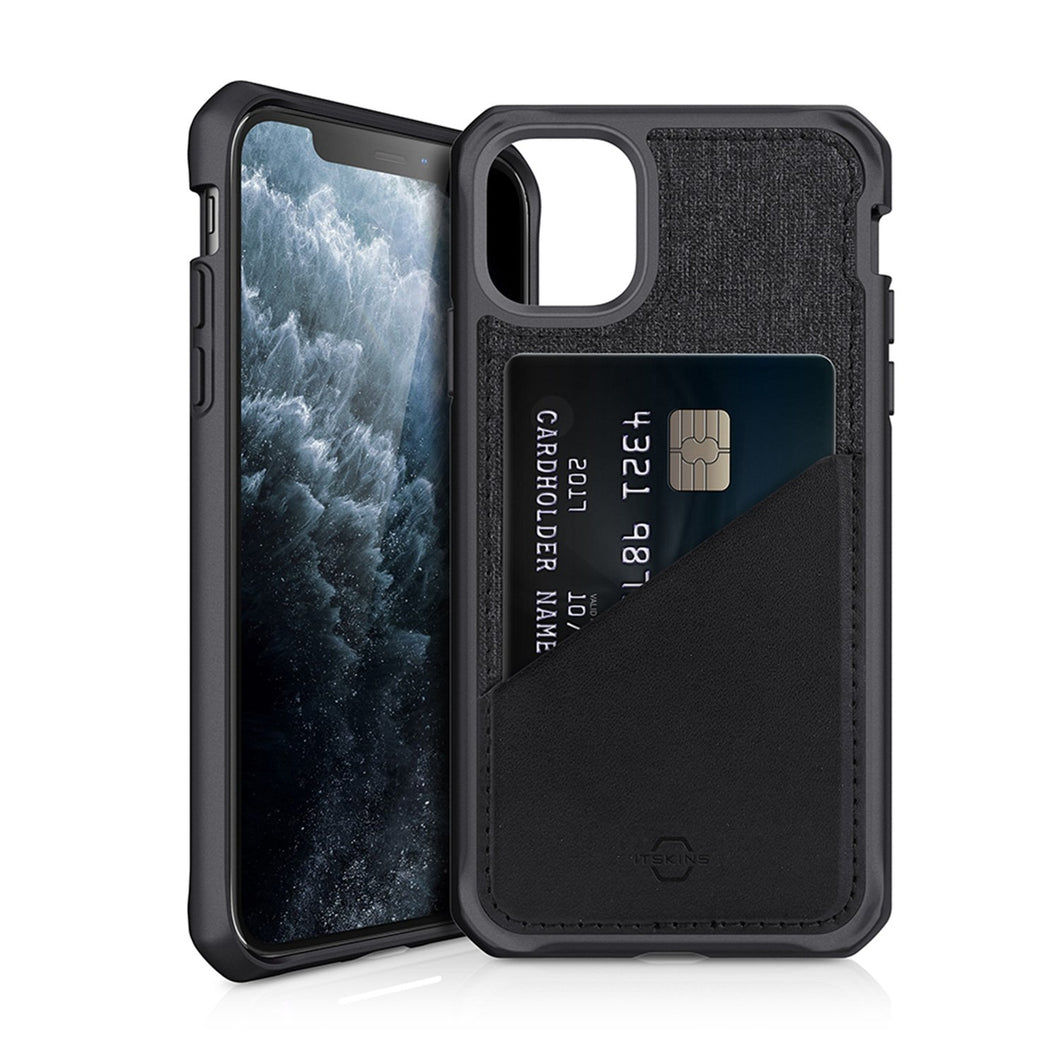 ITSKINS Hybrid Fusion Black & Grey iPhone 11 Pro Case
