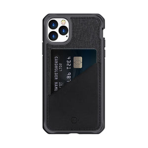 ITSKINS Hybrid Fusion Black & Grey iPhone 11 Pro Max Case