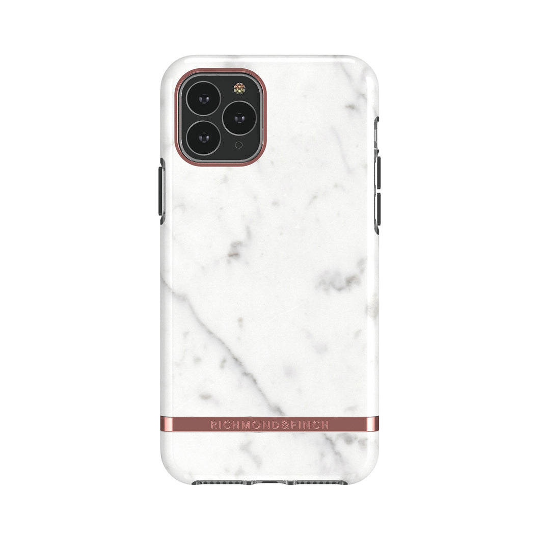 Richmond and Finch White Marble iPhone 11 Pro Case