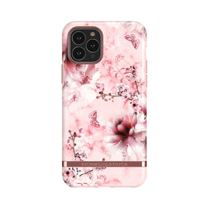 Richmond and Finch Pink Marble Floral iPhone 11 Pro Case