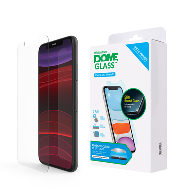 Whitestone Dome Glass iPhone 11 | iPhone XR (Without UV Light)