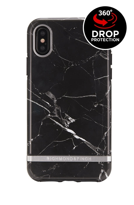 Richmond and Finch Black Marble iPhone Xr Case