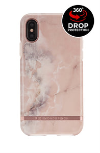 Richmond and Finch Pink Marble iPhone Xr Case