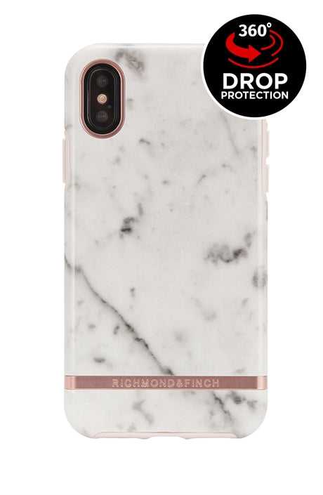 Richmond and Finch White Marble iPhone Xr Case