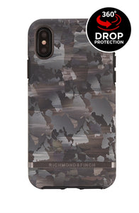 Richmond and Finch Camo iPhone Xs Max Case