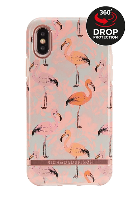 Richmond and Finch Pink Flamingo iPhone Xr Case