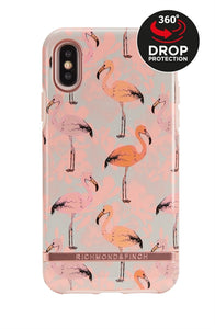 Richmond and Finch Pink Flamingo iPhone Xs Max Case