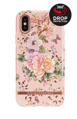 Richmond and Finch Peonies and Butterflies iPhone X | Xs Case