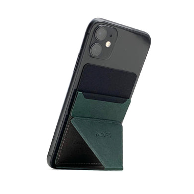 MOFT X Phone Stand with Cardholder - Dark Green