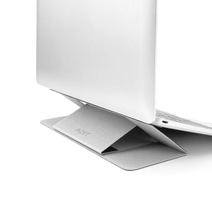 MOFT Laptop Stand Gen 2 with Heat Ventilation - Silver