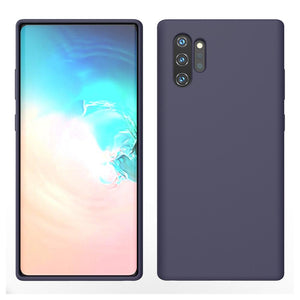 Silicon Liquid Silicone Galaxy Note 10+ Case