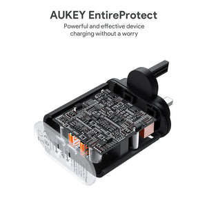 Aukey PA-T16 Quick Charge 3.0 Dual Port Wall Charger