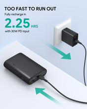 Aukey PB-Y40 Essential 15,000mAh 3-Port Power Bank with 30W PD