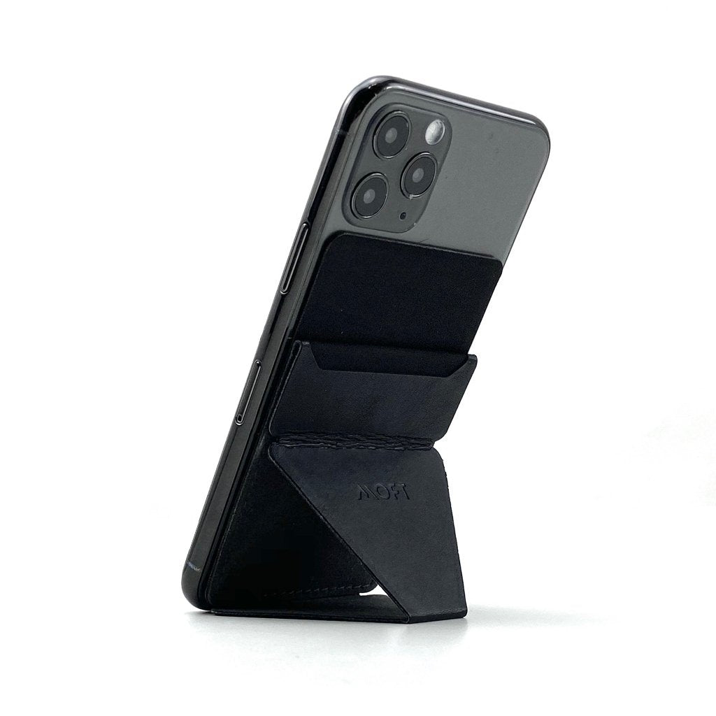 MOFT X Phone Stand with Cardholder - Black