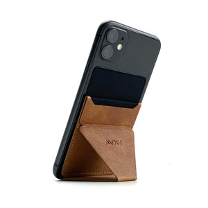 MOFT X Phone Stand with Cardholder - Brown