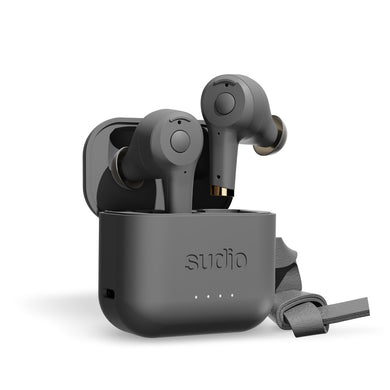 Sudio ETT True Wireless Bluetooth Earbuds- Anthracite