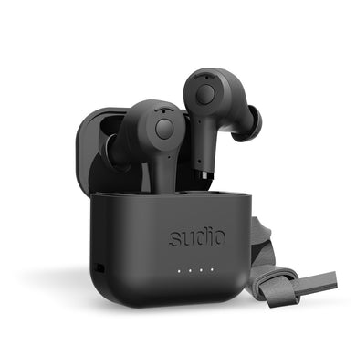 Sudio ETT True Wireless Bluetooth Earbuds- Black