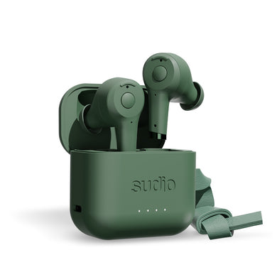 Sudio ETT True Wireless Bluetooth Earbuds- Green