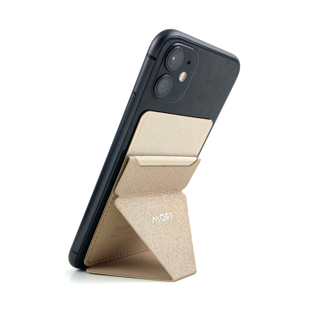 MOFT X Phone Stand with Cardholder - Gold