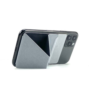 MOFT X Phone Stand with Cardholder - Light Grey
