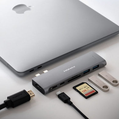 Momax One Link 7-in-1 Dual USB-C Hu