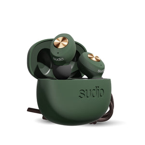Sudio Tolv True Wireless Bluetooth Earbuds - Green