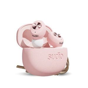 Sudio Tolv True Wireless Bluetooth Earbuds - Pink