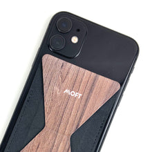 MOFT X Phone Stand with Cardholder - Walnut