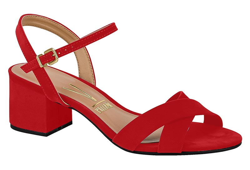 Milla Red Sandal - analisee