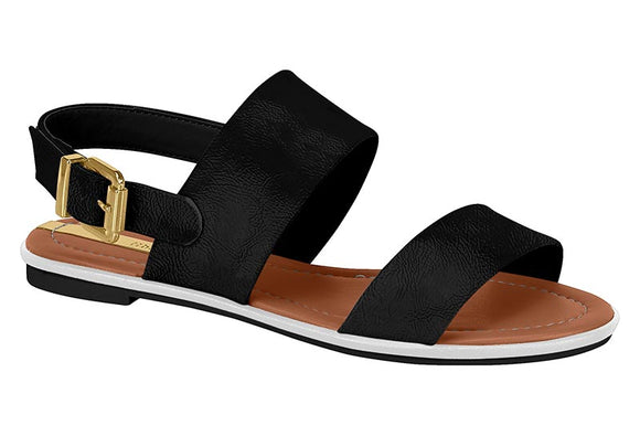 Siena Black Sandal - analisee