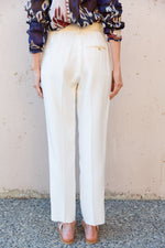 Crepe Wool Pants - ami boutique
