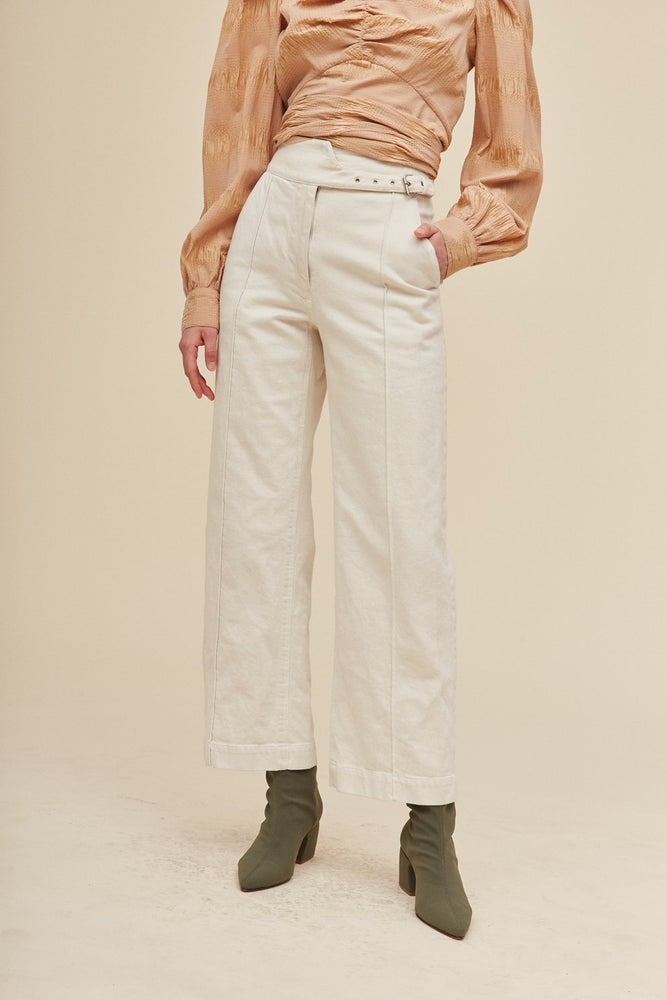 Harlan - Dirty White Denim