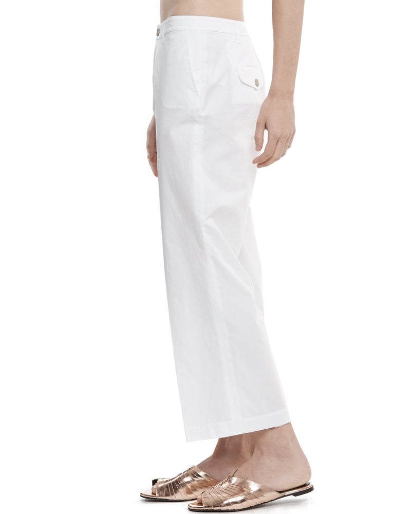 Cotton Poplin Pants