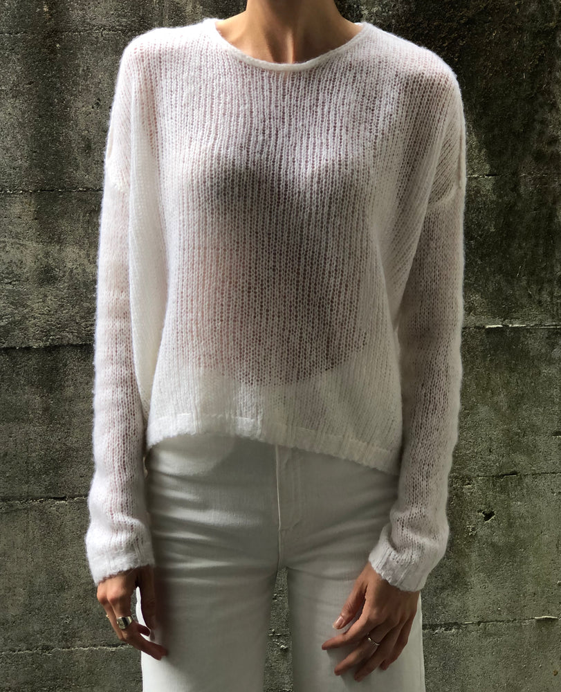 Loose Stitch Sweater - Ivory