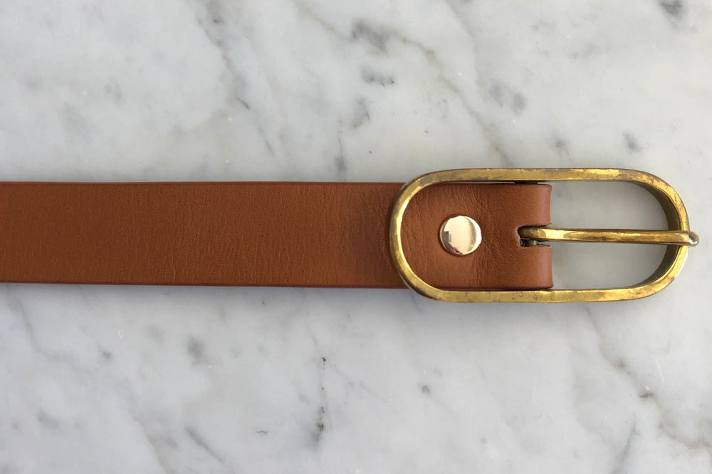 Kepler Belt - Saddle - ami boutique