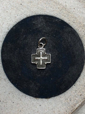 Clawed Cross Charm - ami boutique