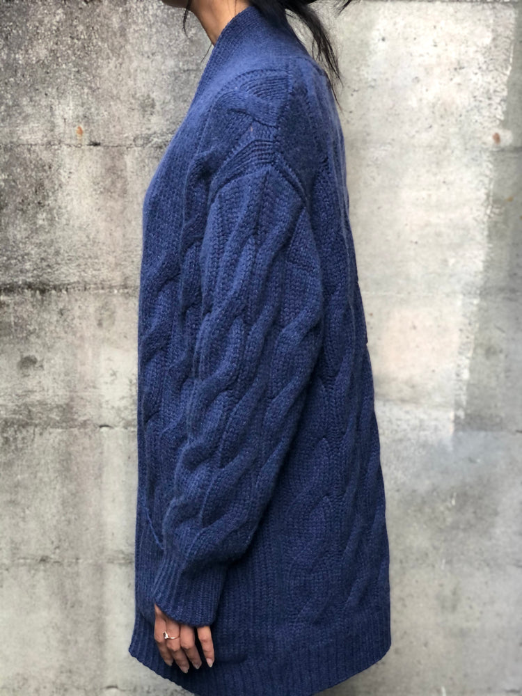 Niles Cardigan - Denim - ami boutique