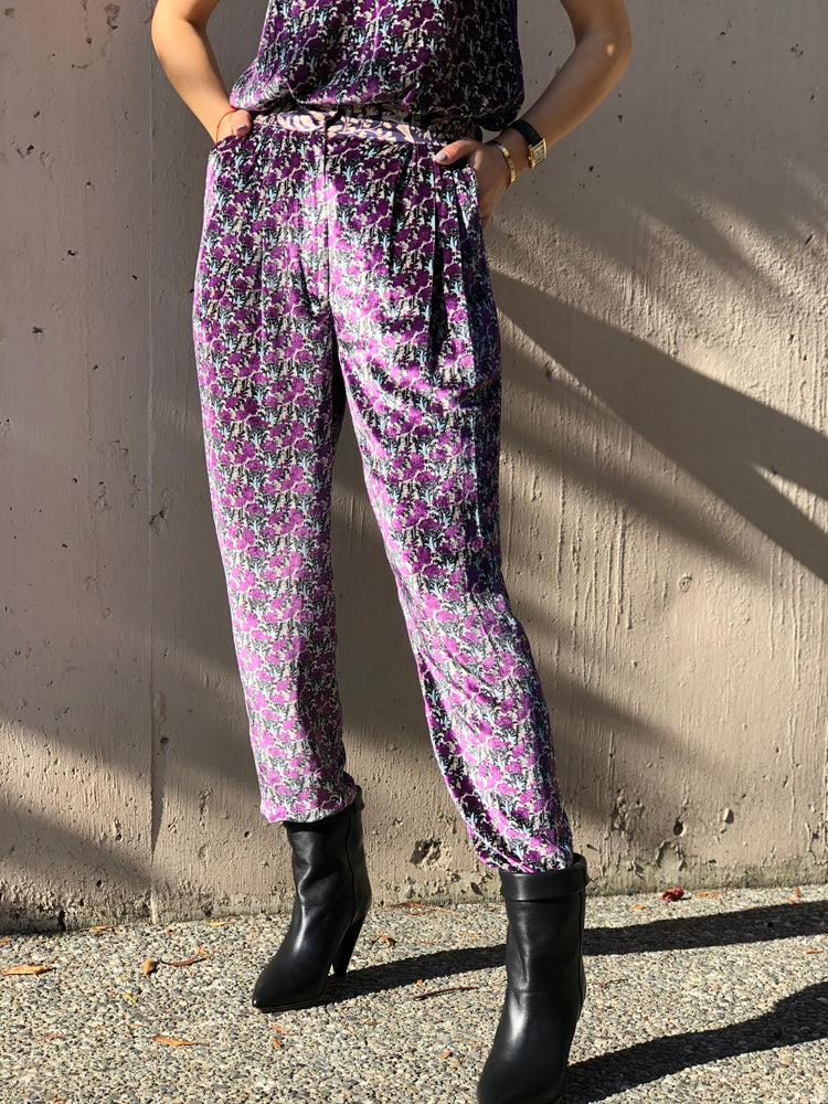 Liberty Velvet Pants - ami boutique